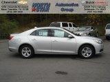 2013 Silver Ice Metallic Chevrolet Malibu LT #72203899