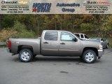 2013 Mocha Steel Metallic Chevrolet Silverado 1500 LT Crew Cab 4x4 #72203894