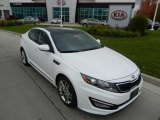 2013 Snow White Pearl Kia Optima SX Limited #72204135