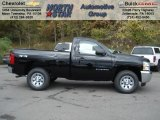 2013 Black Chevrolet Silverado 1500 LS Regular Cab 4x4 #72203887
