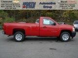 2013 Victory Red Chevrolet Silverado 1500 Work Truck Regular Cab #72203885