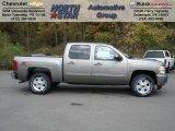2013 Graystone Metallic Chevrolet Silverado 1500 LT Crew Cab 4x4 #72203880