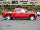 2013 Victory Red Chevrolet Silverado 1500 LT Crew Cab 4x4 #72203879
