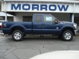 2012 Dark Blue Pearl Metallic Ford F250 Super Duty XLT SuperCab 4x4 #72203777