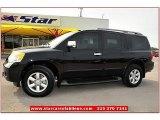 2012 Galaxy Black Nissan Armada SV 4WD #72204037