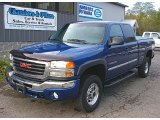 2003 GMC Sierra 2500HD Marine Blue Metallic