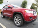 2013 Jeep Grand Cherokee Deep Cherry Red Crystal Pearl