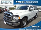 2003 Bright White Dodge Ram 1500 ST Regular Cab #72204172