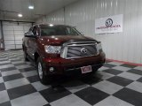 2010 Salsa Red Pearl Toyota Tundra Limited CrewMax 4x4 #72203736