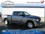 2012 Mineral Gray Metallic Dodge Ram 1500 SLT Quad Cab 4x4 #72246965