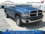 2005 Atlantic Blue Pearl Dodge Ram 1500 ST Regular Cab 4x4 #72246344