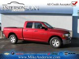 2012 Deep Cherry Red Crystal Pearl Dodge Ram 1500 SLT Quad Cab 4x4 #72246962