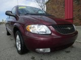 2002 Chrysler Town & Country Dark Garnet Red Pearlcoat