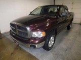 2004 Deep Molten Red Pearl Dodge Ram 1500 SLT Quad Cab 4x4 #72246545
