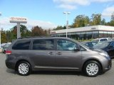 2012 Predawn Gray Mica Toyota Sienna LE AWD #72245703