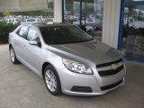 2013 Silver Ice Metallic Chevrolet Malibu LT #72246739