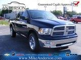 2012 True Blue Pearl Dodge Ram 1500 Big Horn Quad Cab 4x4 #72246322