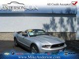 2011 Ingot Silver Metallic Ford Mustang V6 Premium Convertible #72246942