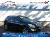 2008 Carbon Black Metallic Buick Enclave CXL AWD #72246941