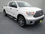 2013 Super White Toyota Tundra Texas Edition Double Cab 4x4 #72245690