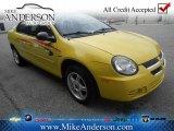 2003 Solar Yellow Dodge Neon SXT #72246517
