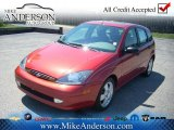 2003 Sangria Red Metallic Ford Focus ZX5 Hatchback #72246936