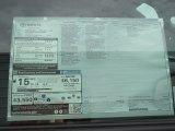 2013 Toyota Tundra Texas Edition Double Cab 4x4 Window Sticker