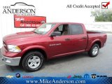 2012 Deep Cherry Red Crystal Pearl Dodge Ram 1500 Outdoorsman Crew Cab #72246695