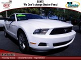 2011 Performance White Ford Mustang V6 Premium Coupe #72246097