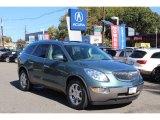 2010 Silver Green Metallic Buick Enclave CXL AWD #72245490