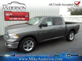 2012 Mineral Gray Metallic Dodge Ram 1500 Big Horn Crew Cab 4x4 #72246668