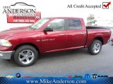 2012 Deep Cherry Red Crystal Pearl Dodge Ram 1500 Big Horn Crew Cab 4x4 #72246665