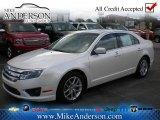 2010 White Platinum Tri-coat Metallic Ford Fusion SEL #72246845