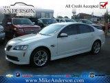 2009 White Hot Pontiac G8 Sedan #72246840