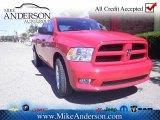 2012 Flame Red Dodge Ram 1500 Express Crew Cab 4x4 #72246474