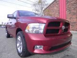 2012 Deep Cherry Red Crystal Pearl Dodge Ram 1500 Express Crew Cab 4x4 #72246473