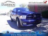 2012 True Blue Pearl Dodge Ram 1500 Express Crew Cab 4x4 #72246472