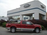 2013 Ruby Red Metallic Ford F150 XLT SuperCab 4x4 #72245464