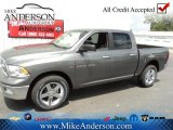 2012 Mineral Gray Metallic Dodge Ram 1500 Big Horn Crew Cab 4x4 #72246636