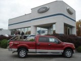 2013 Ruby Red Metallic Ford F150 XLT SuperCrew 4x4 #72245462