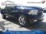 2012 Black Dodge Ram 1500 Express Crew Cab 4x4 #72246468
