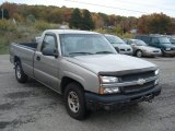 2003 Light Pewter Metallic Chevrolet Silverado 1500 Regular Cab #72245646