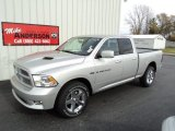 2012 Bright Silver Metallic Dodge Ram 1500 Sport Quad Cab 4x4 #72246631