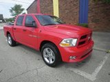 2012 Flame Red Dodge Ram 1500 Express Crew Cab 4x4 #72246457