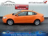 2013 Header Orange Dodge Dart SXT #72246613