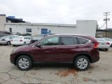 2013 Basque Red Pearl II Honda CR-V EX-L AWD #72246060