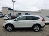2013 White Diamond Pearl Honda CR-V EX-L AWD #72246057