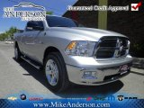 2012 Bright Silver Metallic Dodge Ram 1500 Big Horn Quad Cab 4x4 #72246451