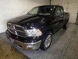 2012 Black Dodge Ram 1500 Big Horn Quad Cab 4x4 #72246450