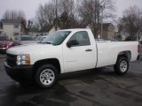 2012 Summit White Chevrolet Silverado 1500 Work Truck Regular Cab #72246805